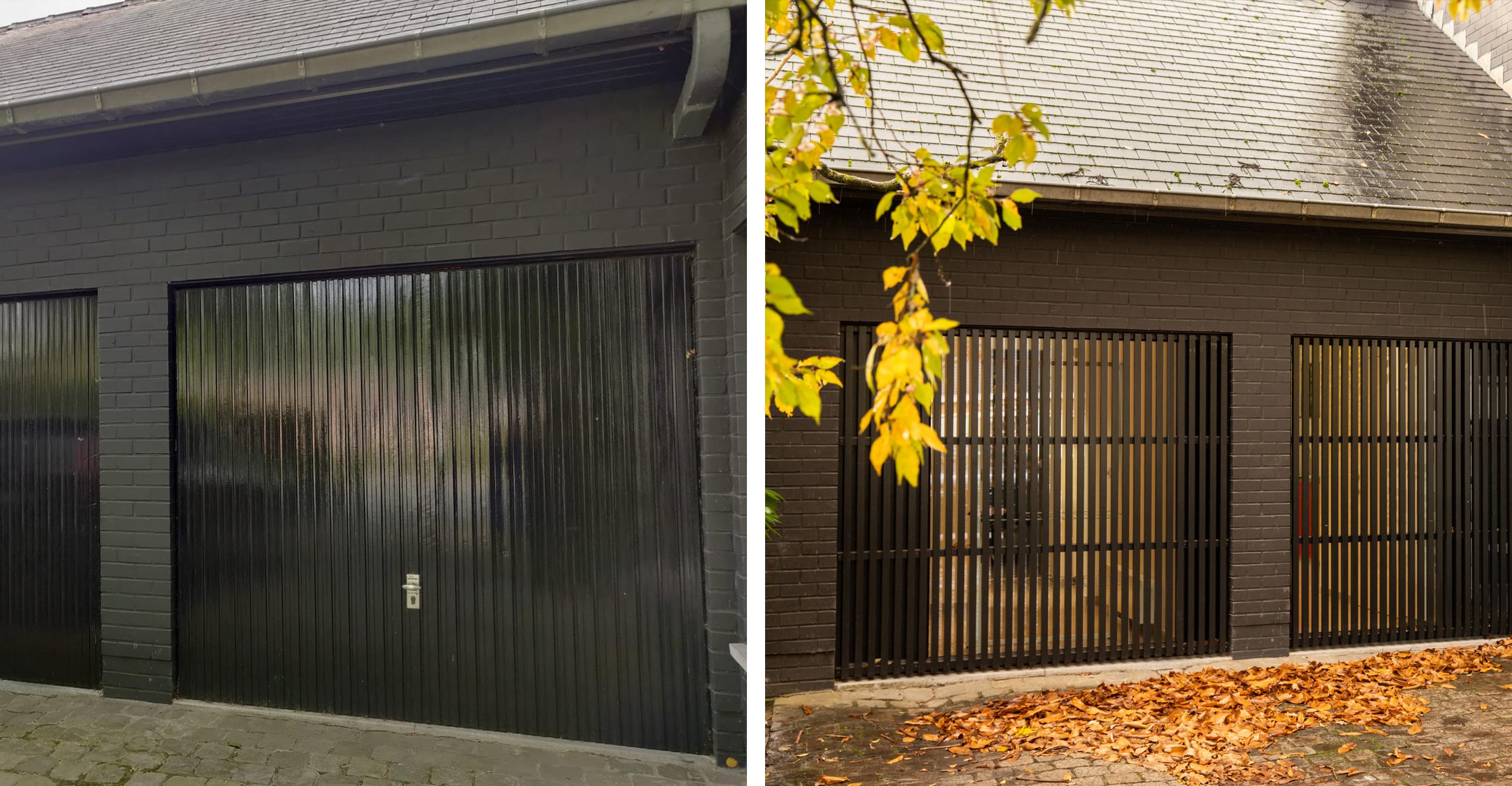 verbouwing garage Sijsele